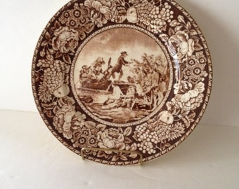 Royal.Fenton.Brown.Transfer-Ware.Plate.Claudia.Camp.Antiques.jpg