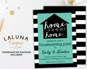 Housewarming Invitation, Housewarming Party, Housewarming Invite, Housewarming Party Invitation, Home Sweet Home