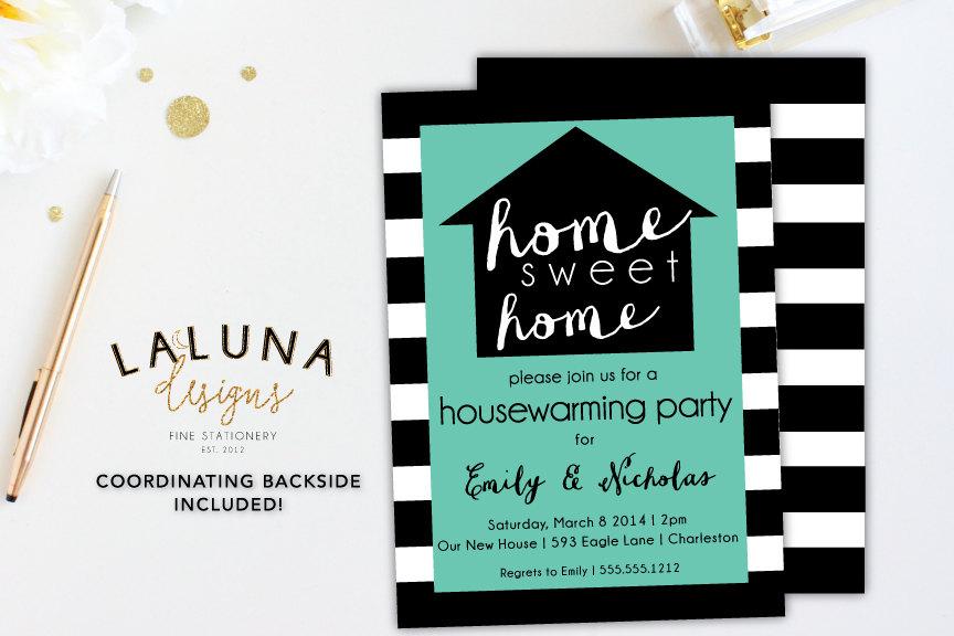 Housewarming Invitation Housewarming Party Housewarming