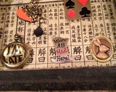 Aice in WONDERLAND JEWELRY CHARMS! Make your own necklace  5 varities !