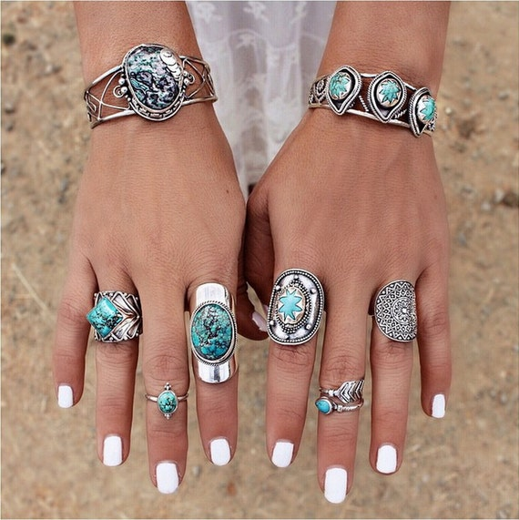 Buy Boho Gemstone Rings Online