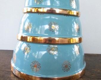 Hall's Mid-Century Nesting Bowls
