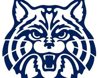 University of Arizona Wildcat Vinyl Decal