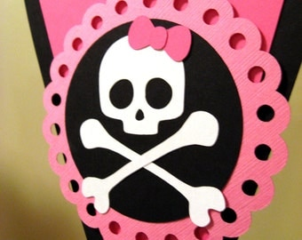 Pirate Girl Party Banner