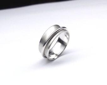 Narrow bezel, 925 Silver