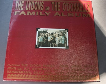 The Lydons and the O'Donnels Family Album Record/LP/Vinyl