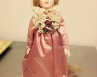 Vintage Seymour Mann Rapunzel Collectible doll