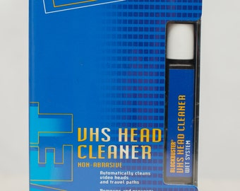 Vintage 90s Blockbuster VHS Head Cleaner / Gag Gift / Funny Gift / New in Package