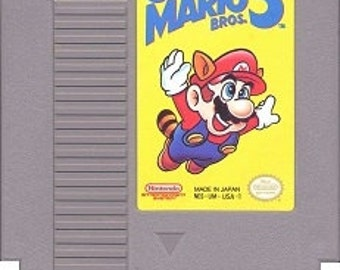 Super Mario Bros. 3 NES Game