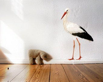 wall sticker wall decal STORK