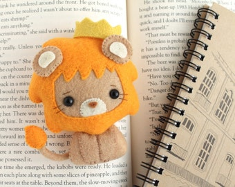 PDF Pattern - Felt Lion Nogget Plush