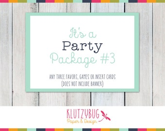 Party Package Three