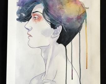 Melancholy. 48 x 34