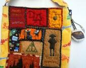 Harry Potter bag,shoulder bag, Hogwarts, Owlpost,potions,Magic,Geekery,handmade