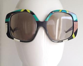 Sunglasses psychedelic | Etsy DE