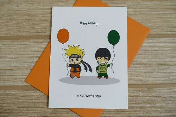 Naruto Happy Birthday Card Bigking Keywords And Pictures