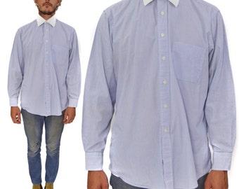 Vintage 90s Gitman Bros. Long Sleeve Button Down Oxford Dress Shirt