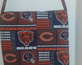 Chicago Bears Inspired Messenger, Cross Body Bag
