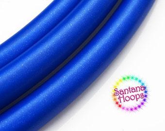 5/8 Mini Twins Starry Sapphire Metallic Polypro Hula Hoop Minis