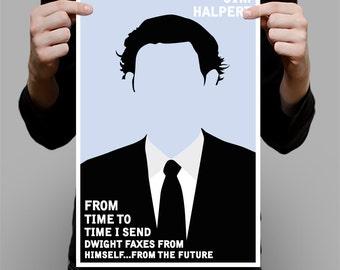 "Jim Halpert Art Print / Poster - 11"" x 17"""