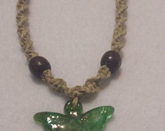 Angel Hemp Necklace