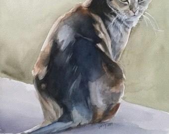 Cat Portraits, Cat Painting, Watercolor Portrait, Pet Paintings, Cats