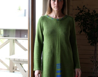 Knitted Linen Tunic Dress