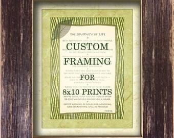 Custom Option: Framing for 8x10