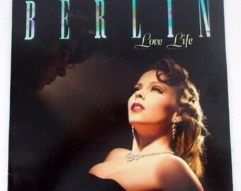 Berlin Love Life 1984 Vinyl LP Record GHS 4025 Geffen