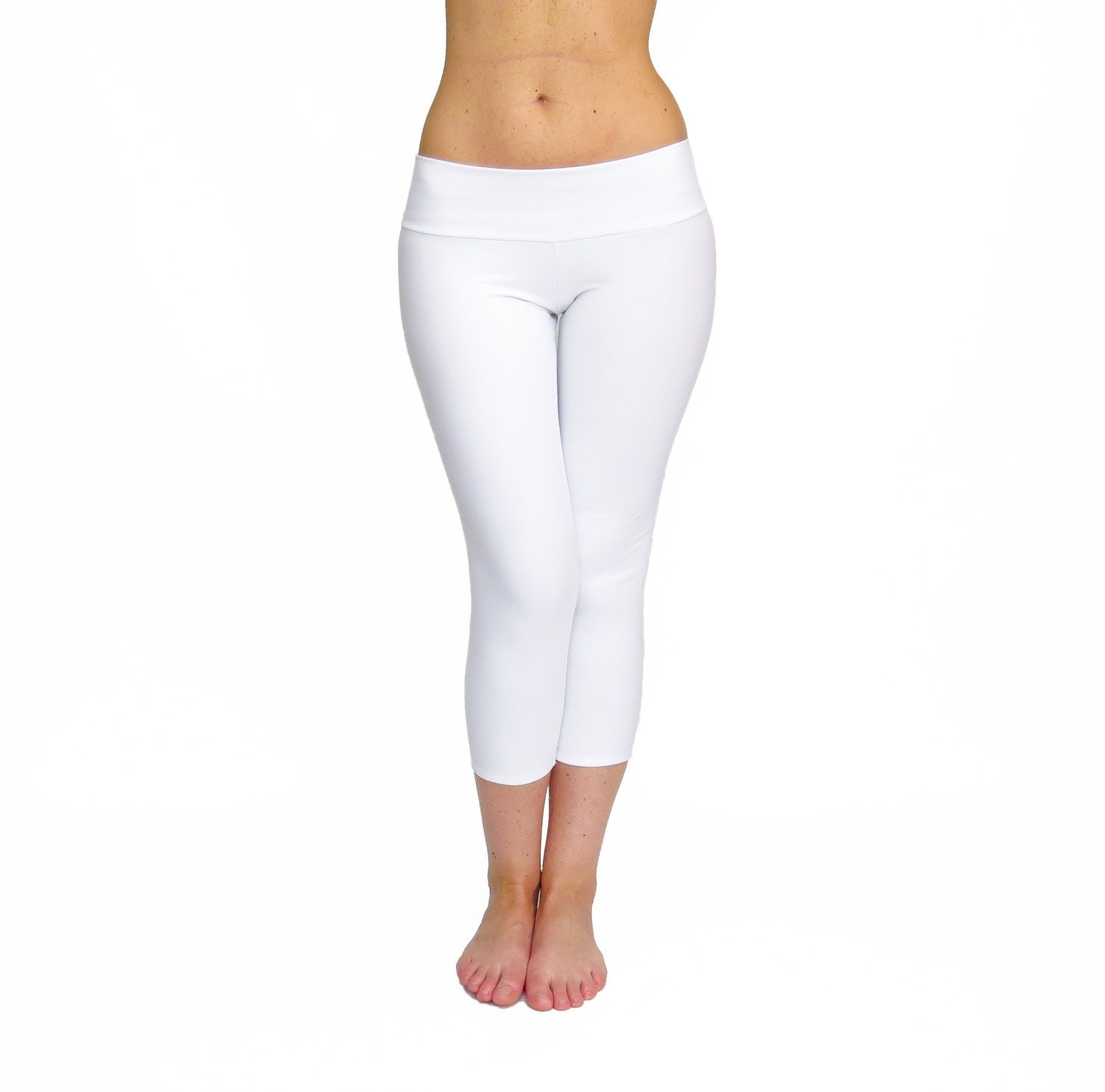 White Yoga Pants