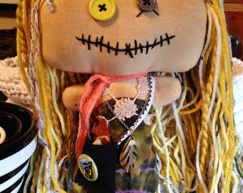 Shabby Charlotte Doll - Willow