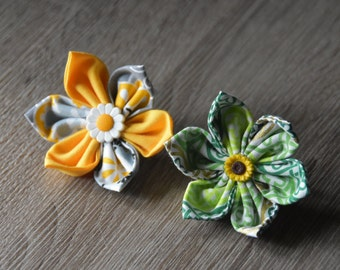 Spring/Summer flowers for dog collar