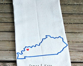 Home State Dish Towel