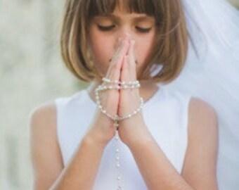 First Communion Veil or Wedding Veil