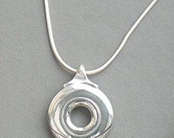 Bass Flute Open Hole on silver (N302-S)