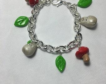 Mini Totoro theme Charm Bracelet