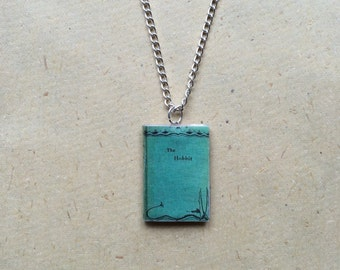 The Hobbit Miniature Book Necklace