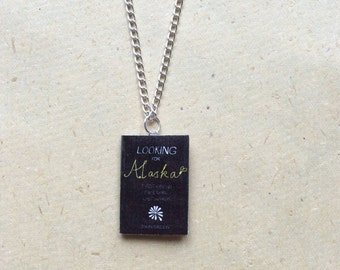 Looking For Alaska Miniature Book Necklace