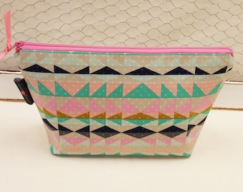 Makeup bag, Cosmetic pouch, Large zipper pouch