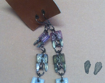 Mini Fuse Earrings - Dusk