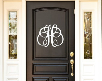 front door monogramDoor decorations  Etsy