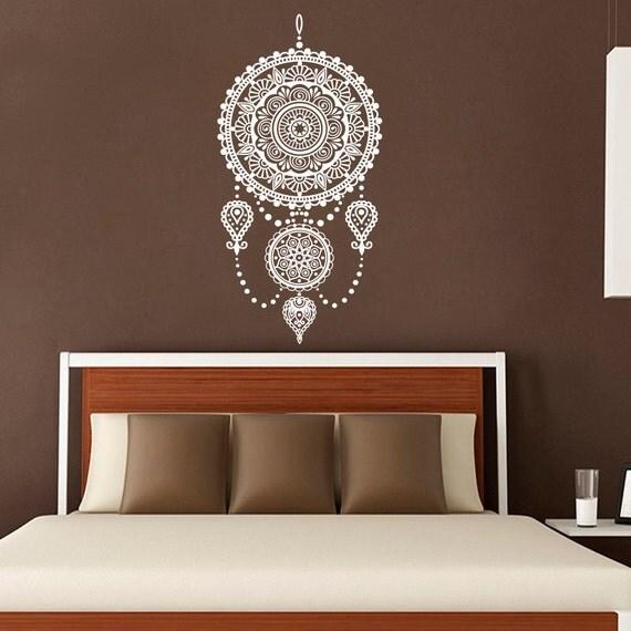 Native Design Wall Decals : Dream catcher decal wall decals bedroom native by bestdecals
