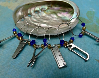 Industrial Tools Wine Charms