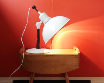 Vintage Lamp // Industrial Desk Lamp // Heat Lamp // Thermolux Bestrahlungslampe