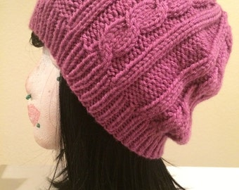 Columned Cables Beanie