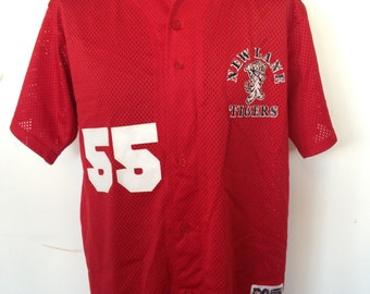 Vintage American Baseball Top - 90s American sports jersey