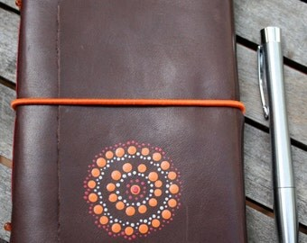 Brown Leather Journal / Notebook Made in Australia