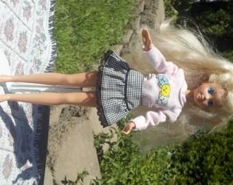 Vintage Skipper Doll, 1980s SKIPPER Bendable Legs Sweet Smile Very  Long Hair