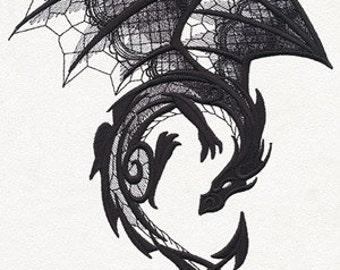 Dark Creatures - Dragon fleece blanket