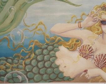 Mermaid Meet Virginia